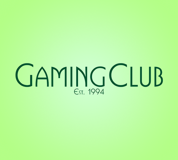 Gaming Club welcome
