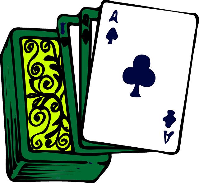 Jede Karte in Blackjack hat eigenen Wert