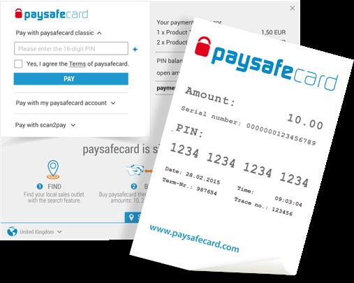 Paysafecard ist eine beliebte Zahlungsmethode in Deutschland