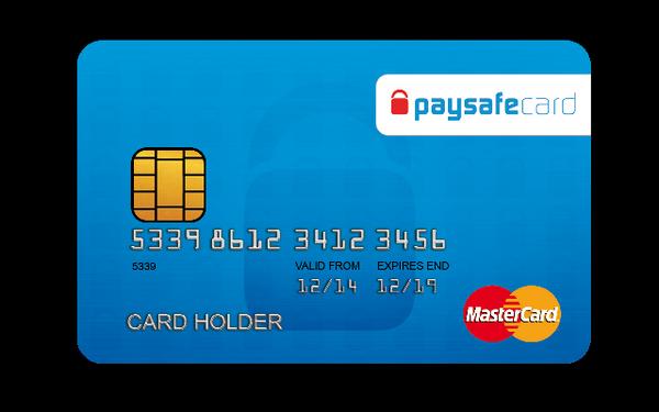 Es ist möglich, eine Paysafe Mastercard zu bestellen